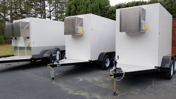 Small Refrigerated Trailers